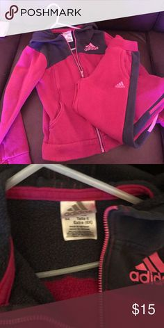 Girls Adidas sweat outfit Great condition. Both hoodie and sweats included. adidas Matching Sets