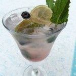 Blueberry Mojito - the perfect summer drink