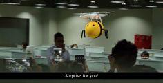 Honey Beer Creates 'Buzz' with Bee Drones! - http://www.creativeguerrillamarketing.com/guerrilla-marketing/honey-beer-creates-buzz-bee-drones/