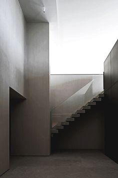 #Stairs #cold #glass #modern #empty #urban #architecture