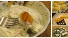 Chrumkavé zemiaky so smotanovo-bylinkovou omáčkou Ale, Eggs, Meat, Chicken, Breakfast, Food, Morning Coffee, Ale Beer, Essen