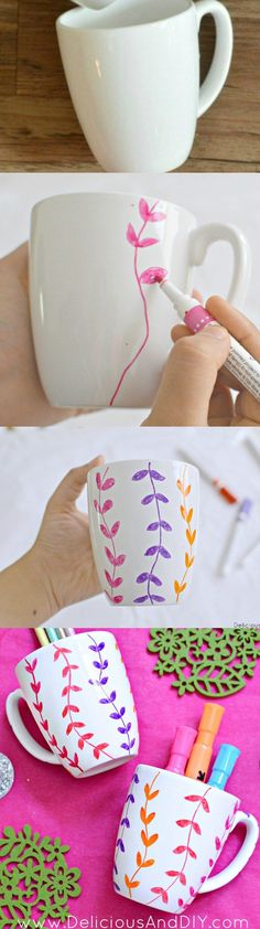 Easy handpainted Mug