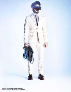 Vanguard Gentleman Portraits : Smoking Suits Male Model Scene