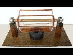 How to make an electric motor homemade - YouTube