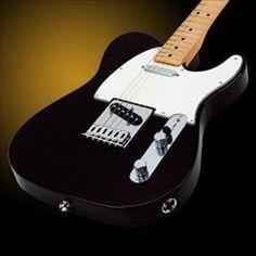 HelloMusic: Fender Guitar Standard Telecaster - Black / Maple http://www.hellomusic.com/items/standard-telecaster-black-maple