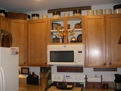 My kitchen before the makeover in Fall 2015