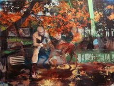 "Saatchi Art Artist Lorella Paleni; Painting, ""Crossing - SOLD"" #art"