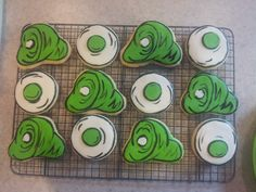 green eggs and ham cookies