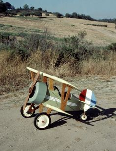 The Stevenson Projects Pedal Biplane