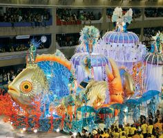 Float Rio Carnival by Gainer Donnelly, via Flickr