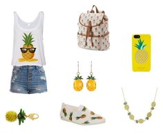 """""""Pineapple Cutie"""" by mehh-sammy on Polyvore"""