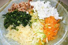 A mi izraeli konyhánk: Sütőben sült zöldség-pogácsák Feta, Cabbage, Grains, Paleo, Rice, Vegetables, Vegetable Recipes, Beach Wrap, Veggie Food