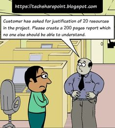 Humour - Unjustified Project sizing