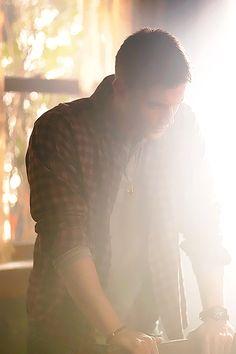 Dean Winchester - Supernatural. beautiful sunlight flare.