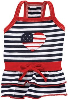 Love American Style Dog Dress