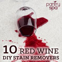 Just got a red wine stain? Or do you have an old stain? Don't worry, you can still get the stain out with one of these natural, DIY red wine stain removers!