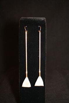 Astoria Couture - Astoria/Mini Broomstick Feather Earrings, $69.00 (http://www.astoriacouture.com/astoria-mini-broomstick-feather-earrings/)