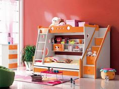 How to Design Cool Kids Rooms: Cool Kids Rooms With Portable Bed – Bloombety