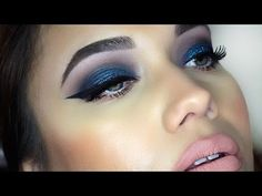 Blue Teal Smokey Eye | thatgirlshaexo
