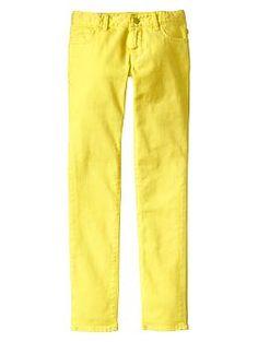 Super skinny neon jeans   Gap