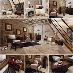 Afternoon in Paris, home decor, modern, sleek, dark, furniture,