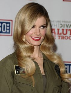 Model Marisa Miller attends VH1 Divas Salute The Troops at Marine Corps Air Station Miramar on December 3 2010 in San Diego California