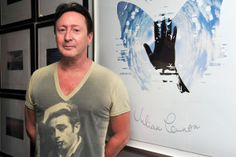 Julian Lennon attends his 'Everything Changes' CD release event at Morrison Hotel Gallery in West Hollywood, California. Julian Lennon, John Lennon Beatles, The Beatles, Ringo Starr, George Harrison, Paul Mccartney, Morrison Hotel, John Charles, West Hollywood