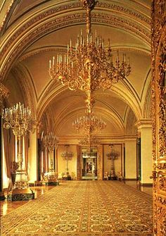 Catherine's common-room is built in 1838-1849 .foto 1981 Greate Kremlin Palace
