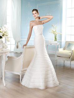 Vestido de novia, modelo Harbin de St. Patrick 2014  www.sanpatrickgranada.es