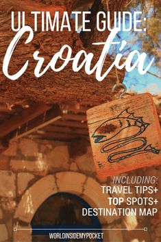 Croatia travel guide: top tips and best destinations. Croatia is one of Europe's most beautiful holiday destinations. Quintessentially Mediterranean: a paradise of olive trees, waterfalls, beaches, fresh fish and endless sunshine. Croatia Travel Guide, Europe Travel Guide, Asia Travel, Travel Guides, Travelling Europe, Travel Plan, Work Travel, Travel Goals, Travel Hacks