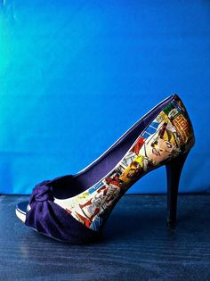 iron man comic book pinup stiletto heels from etsy shoes http://www.etsy.com/listing/119697340/comic-book-shoes-iron-man-peeptoe-heels?ref=sr_gallery_6_search_query=comic+book+shoes_view_type=gallery_ship_to=US_search_type=all