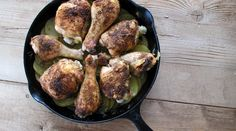 Skillet-Roasted Potatoes and Chicken : Recipes : do it Delicious