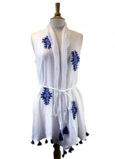 Ivy Jane Vest Style #159109 White