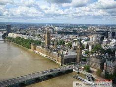 Parlamente visto da London Eye