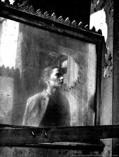 Frances Mortimer - Reflection (Paris, When a woman stops before the window of a shop to gaze at her reflection, we see her, but not what she sees of herself looking back. Francesca Woodman, Vintage Photography, Street Photography, Art Photography, Travel Photography, Photo D Art, Monochrom, Through The Looking Glass, Picture Show