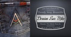 #7ForAllManKind is just one of the many amazing Brands we carry at #DenimBarMKE  #ThirdWardMKE 317 North Broadway!