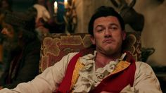 Image result for luke evans in beauty and the beast
