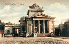 Great Synagogue, Warsaw - After the Warsaw Ghetto Uprising, on May 16, 1943 the SS blew up the building. It was not rebuilt after the war.