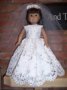 American Girl Doll Wedding Dresses - Bing images