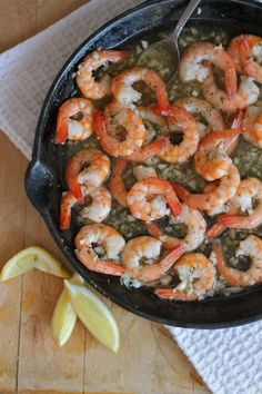 Learn how to make Shrimp Scampi from BHG Delish Dish blogger Lauren Brennan: http://www.bhg.com/blogs/delish-dish/2012/12/31/ingredient-obsession-shrimp-scampi/