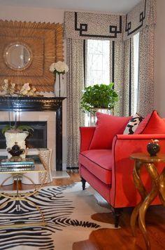 www.eyefordesignlfd.blogspot.com: Decorating With Zebra Rugs....A Contemporary Classic