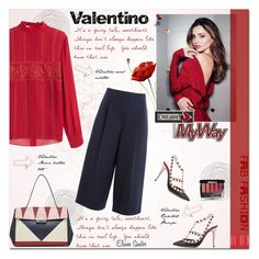 """Valentino"" by alves-nogueira ❤ liked on Polyvore featuring Valentino, Kerr®, Chanel, women's clothing, women's fashion, women, female, woman, misses and juniors"