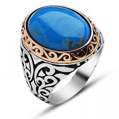 925 Ayar Gümüş Firuze/Turkuaz Taşlı Yüzük Ürünü İncele ve Satın Al >>> http://goo.gl/F2Ni1r