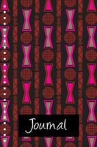 Patterned Journal Three by Milena Martinez
