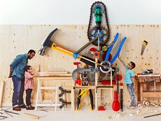 "10 Tools Every Kid Should Learn to Use - from Popular Mechanics :: ""Don't let the potential hazards of hand and power tools keep your child from discovering the rewards of DIY competence."" -- Definitely an important set of skills."