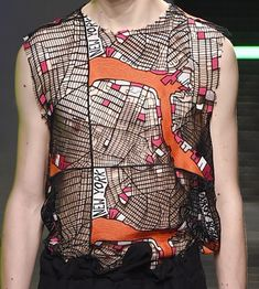 patternprints journal: PRINTS, PATTERNS, TEXTURES AND TEXTILE SURFACES FROM MENSWEAR S/S 2016 COLLECTIONS / MILANO CATWALKS MSGM