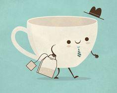 Mr. Tea (love food puns!)