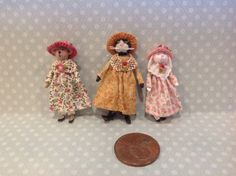 Three sweet little girls by Paulette Svec.