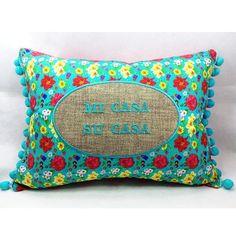 Boa noite!! #casa #decoração #fabric #pillow #cushion #cussion #home  #homedecor #micasasucasa #almofadas #floral