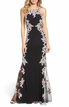 Xscape Stretch Gown